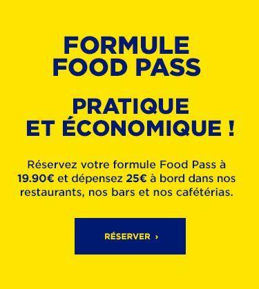 nouvelle formule Food Pass