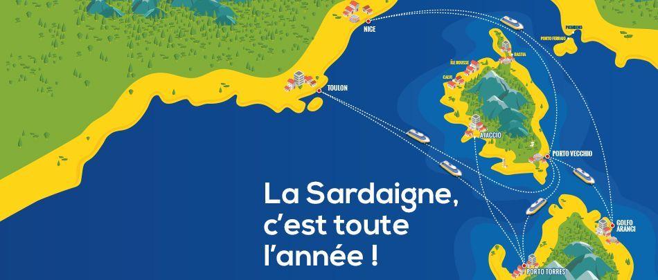 Nouvelles lignes vers Porto Vecchio et Sardaigne