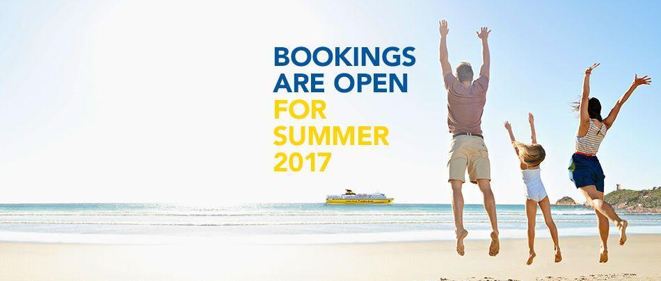 Booking summer 2017