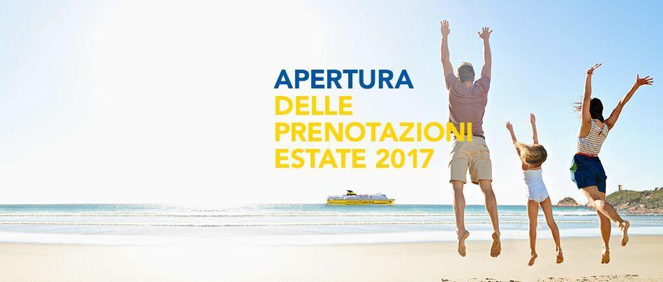 prenotazioni estate 2017