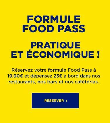 nouvelle formule Food Pass