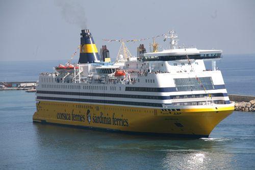 Photos ferries corse et sardaigne corsica ferries - Nice bastia bateau ...